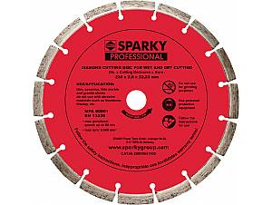 Laser welded diamond blades